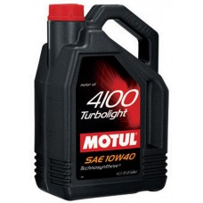 Моторное масло Motul 4100 Turbolight 10W40 5л