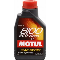 Моторное масло Motul 8100 Eco-clean+ 5W30 C1 5л